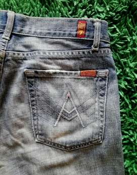 Jeans 7 FOR ALL MANKIND SZ 32 Fit 34 100 % Original