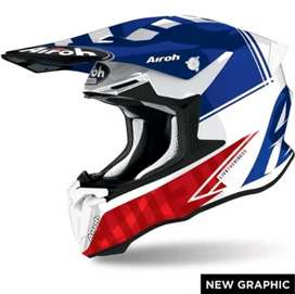 Helm airoh twist 2.0 tahun 2021