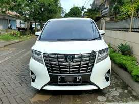 All New Toyota Aphard 2.5 G 2016. LOW KM 76 RB Antik Mulus & Terawat !