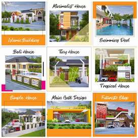 ribuan karya kami,arsitek/desain rumah pengalaman 16th di Bukittinggi