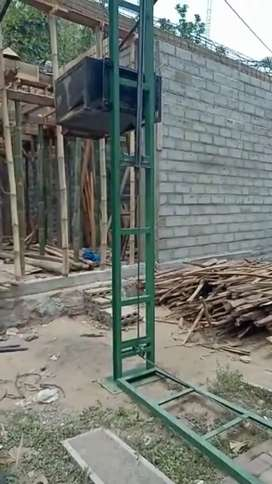 Mesin lift cor/lift bahan