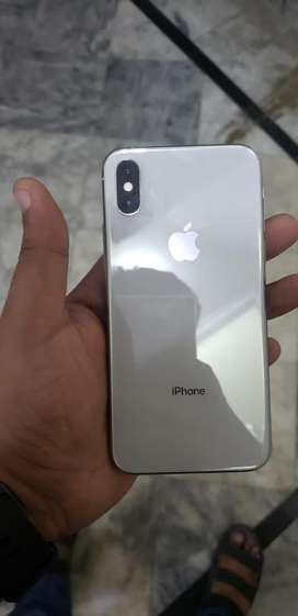 Iphone XS white 64GB 10/10 non PTA dual Sim
