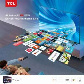 TCL 43P615 UHD 4K Smart Android LED TV
