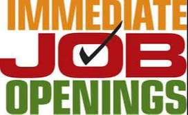 Urgent Permanent job openings - Only serious candidates apply