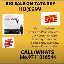 TaTa sky Dhamaka offer @999