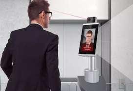 CCTV pendeteksi suhu dan face detection