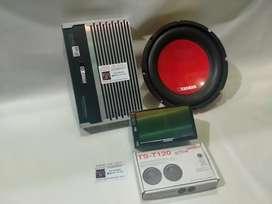 Paket Audio Carman + Head Unit Doubledin Carman Bonus Tweeter Pioneer
