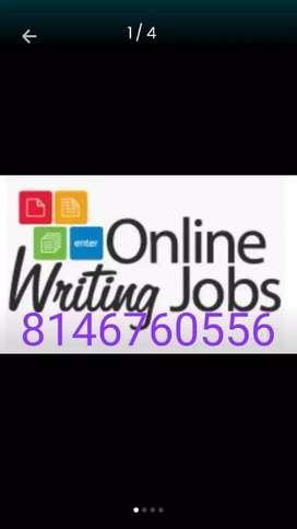 Best and genuine online work data typing