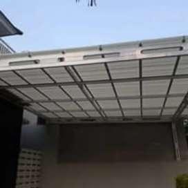Kanopy baja ringan atap Alderon