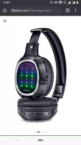 GLITTERRATI I BALL LED wireless head set