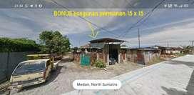 LAHAN/TANAH Strategis Gudang,Tani,Prabrik Medan Marelan*FREE RUMAH