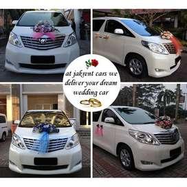 Disewakan Wedding Car VIP / 12 Jam MURAH
