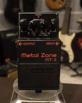 Efel gitar Boss metalzone MT2 stompbox