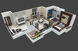 2 Bhk Flat Sale In Loni Kalbhor Ramdara Road, Near Sai Mandir