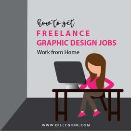 Part time jobs for designers, Logo designs, posters, business card