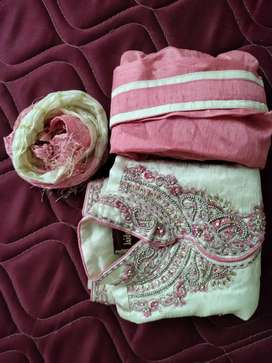 A sophisticated and fashionable 1 -3 years old kids sherwani set