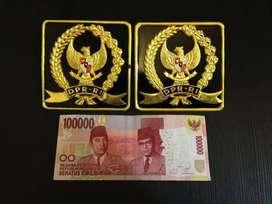 Emblem Peneng Plat Nomor DPR RI