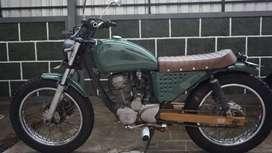 Jual motor tiger 2005 japstyle Plat DK