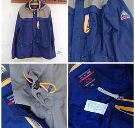 Jaket Mountain Equipment  - 2 Layer - mens original biru abu