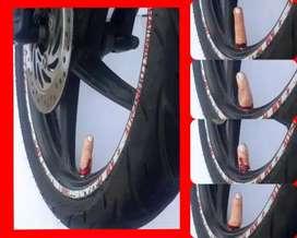 Tutup pentil model jari , sepeda , mobil dan motor