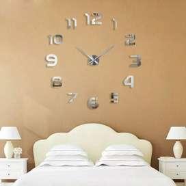 Jam Dinding 3D Jumbo Dekorasi