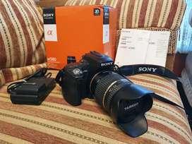 Kamera Sony Alpha A580 & Lensa Tamron 18-270 Bonus VG/BG COD Jogja
