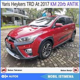 Yaris Heykers TRD At 2017 KM 20rb ANTIK Bisa Kredit