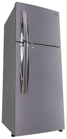 LG 260 L 3 Star Frost Free Double Door Refrigerator (GL-I292RPZL, Shin
