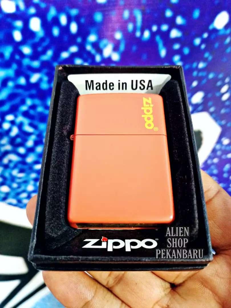 Korek api minyak Zippo OREN super doff