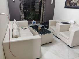 5 seat sofa with centre table