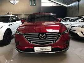 Mazda CX 9 Sky Aktif 2018 AT Merah Like New TT Bmw Mercy Jeep Vrz
