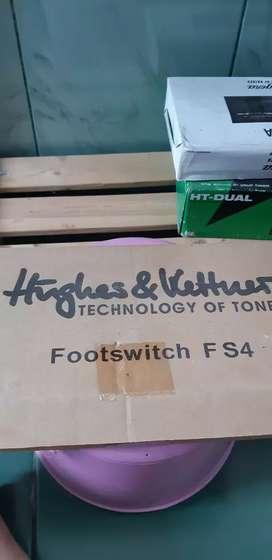 Jual Hughes&Kettner footswitch FS4, blum pernah dipakai, seperti baru,