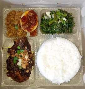 Terima pesanan nasi kotak    Snack box    nasi bungkus