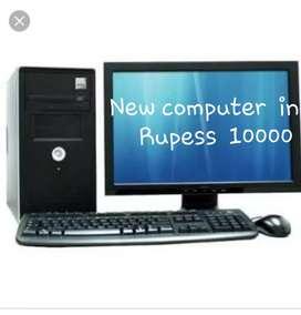 New 1st  hand  computer