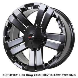 velg model offroad ring 20 for mobil fortuner VRZ, pajero, ford ranger