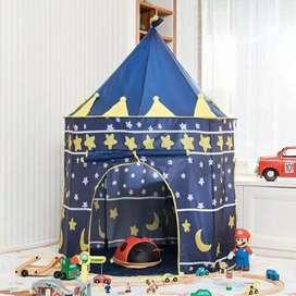 Tenda menara bulat