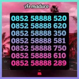 Nomor cantik kartu as Madura