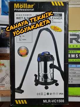 (CAHAYA TEKNIK JOGJA) vacum cleaner mollar 15 l new ready flset