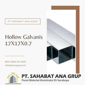 Hollow Galvanis 17X17X0.7