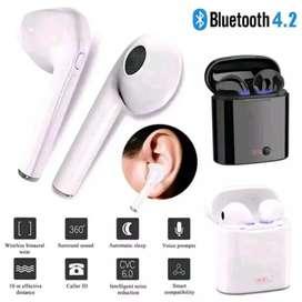 Earphone Wireless Double I7S