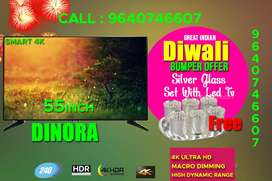 Dinora Live Genius (55 inch) Full HD LED Smart TV Diwali 50% offer