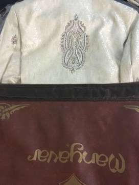 Wedding Sherwani with all other items(Dec,2019) -Used only once
