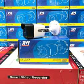 Paket CCTV Hikvision 4 Channel Outdoor Turbo HD 2 MP HDD-1TB Original