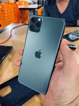 I phone 11 promax 512gb midnight green