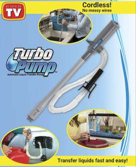 Turbo Pump Automatic Liquid Transfer Pump Hand Operated Cordless