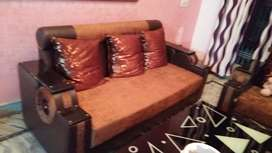 5 seater sofa with table for sale