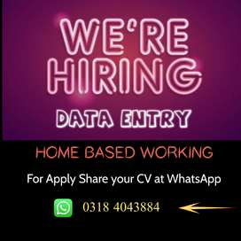 Data Entry Part Time Simple Typing (MS Word/Excel) Working For Females