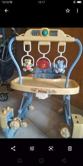 Baby walker bekas merk family bonus dispenser miyako