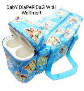 Baby Diaper Bag With Warmer