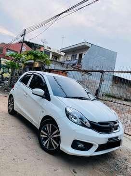 AllNew Honda Brio Putih Matik,LowkM,Tgn1 ex Dokter Bisa Tukar Tambah